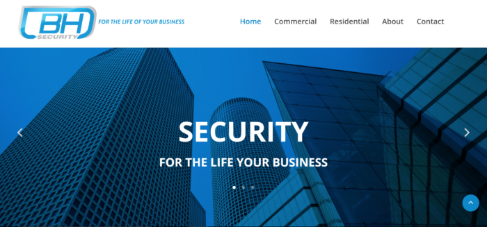 BH Security Website
